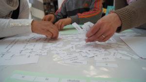 Un atelier d'écriture, des mots, des personnes